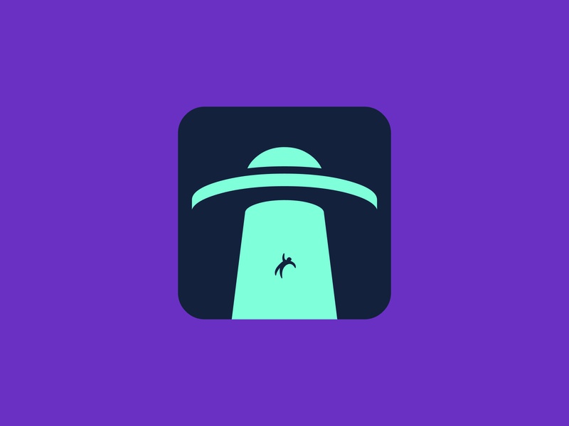 UFO logo concept logofolio logomaker logodesigner logoconcept logo logoconceptday ufoday ufo