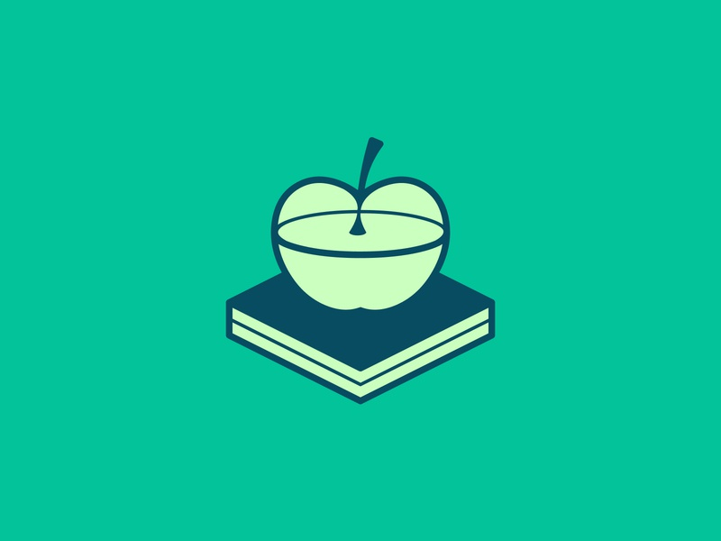 Math 2.0 logo concept logoideas logofolio logomaker logodesigner logoconcept logo logoconceptday green book apple math20day math20 math