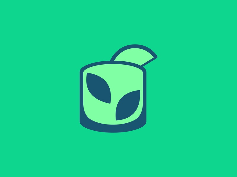 Mojito logo concept logoideas logofolio logomaker logodesigner logoconcept logo logoconceptday leaf lime green cocktail lemon mint rum mojitoday mojito