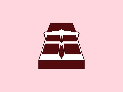 Milk Chocolate logo concept logoconcept logo logoconceptday pink brown chocolatebar milk milkchocolateday milkchocolate chocolate