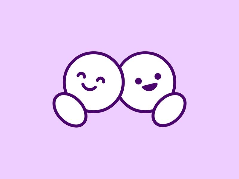 Friendship logo concept cuates llaves parceros amigos homies buddies bff friendshipday friends friendship