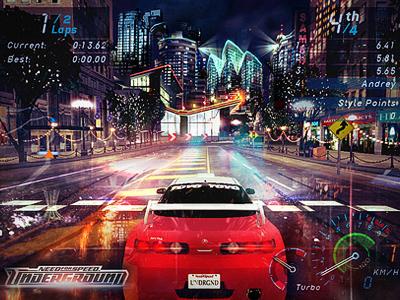 Need for speed Underground Remake HD