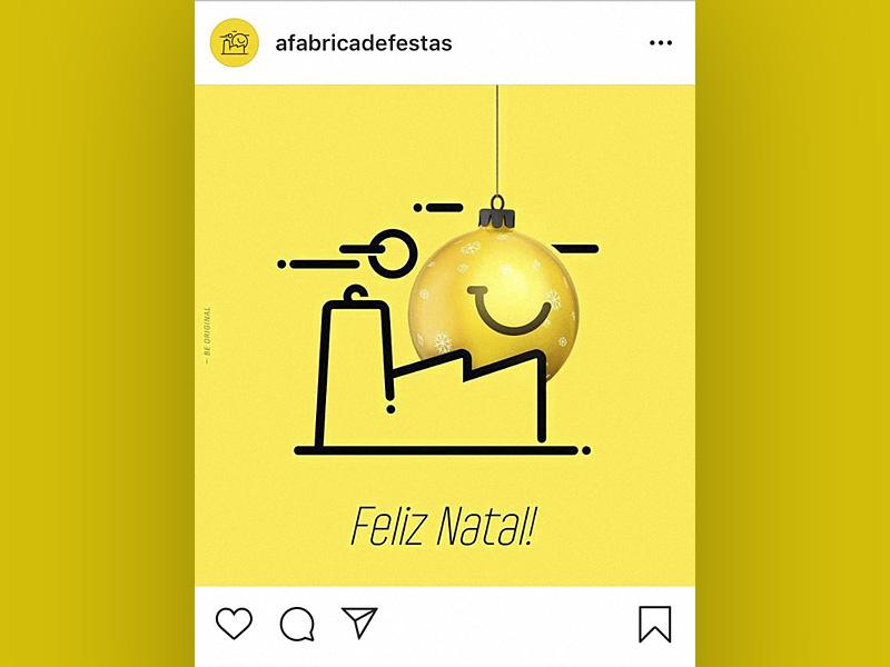 Post cristmas for instagram - FelizNatal - a fabrica de festas feliz natal instagram mayer poster design cristmas everson post