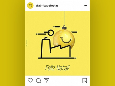 Post cristmas for instagram - FelizNatal - a fabrica de festas