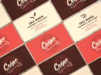 Crepe Escape Business Cards