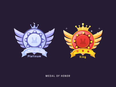 Medal of honor-game icon ui  icon illustration medal game