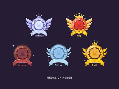 Medal of honor-game2 illustration medal game ui