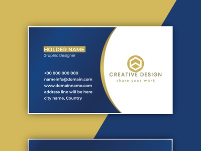Simple and Beautiful Business card graphic