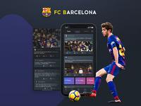 FCB Mobile APP - FC Barcelona - Forum Page