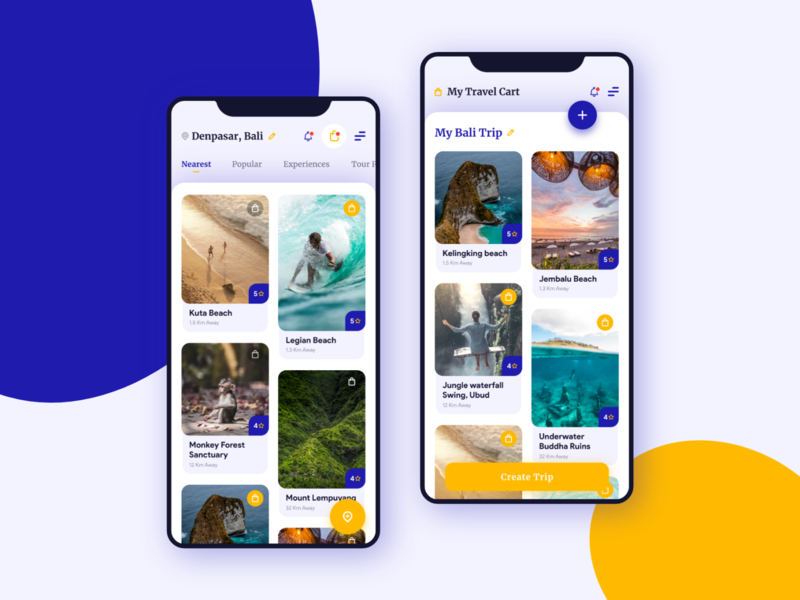 Experimenting with familiarity in design android ios mobile travel ui ux