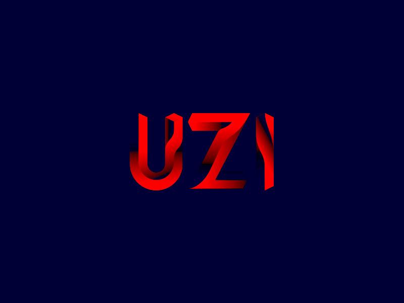 UZI Exploration colorful saturated light value brand art videography logo