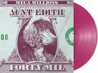 Aunt Edith 40MIL dollar money mil forty poodle pink design cover album illustration etching