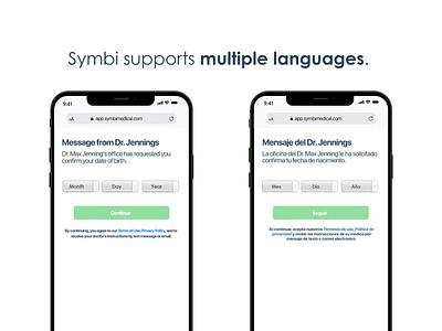 Multi-language support design graphic design branding social media instagram