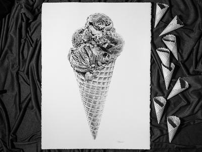 Black Forest Ice Cream