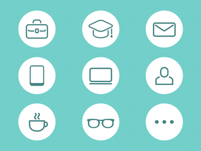 resume icon by hana dribbble - Icons For Resume