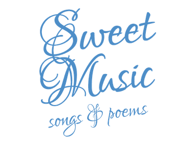 Sweet Music title for concert Haarlems Klein Koor calligraphy decoration typography