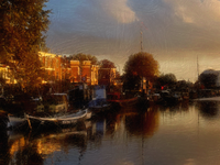 Morning light on Haarlem