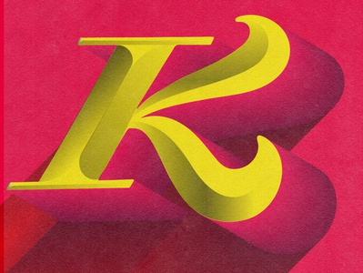 Letter K - 36 Days of Type