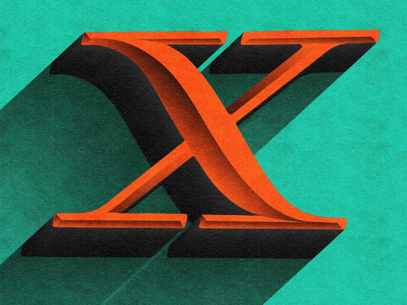 Letter X - 36 Days of Type