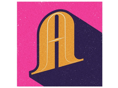 36 Days Of Type - Letter  A