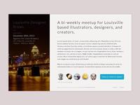 Louisville Designer Brews Landing WIP