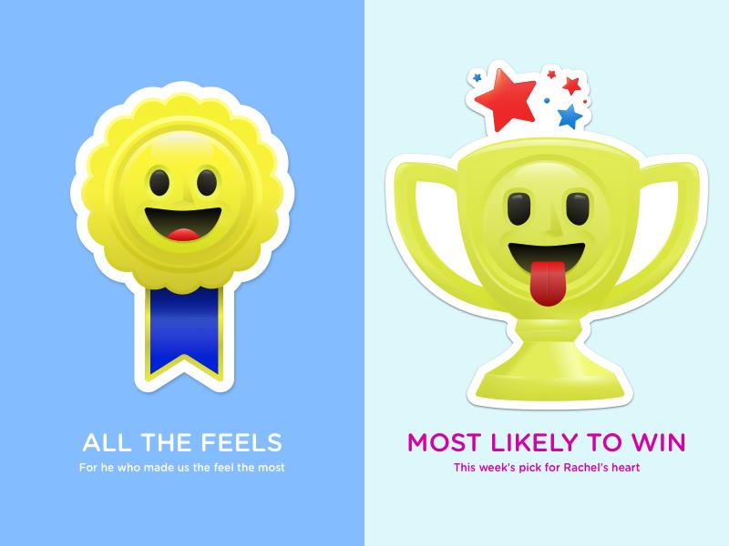 The Bachelorette Present Tenses awards present tenses icon illustration ribbon trophy the bachelorette awards award