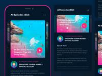 Daily UI Inspiration: Podcast App