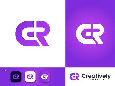 C+R Letter logo design logodesigner modern logo mascot logo design cr letter cr letter logo cr logo r logo c logo logo design illustration logofolio logo design business graphic design creative logob branding abstract logo