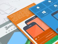 Responsive Design of Kota Email Template