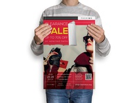 Clearance : Fashion Store Clearance Sale Poster