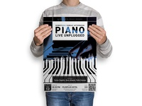 Piano : Music Event Poster Template