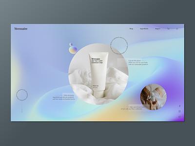 Necessaire web minimal brand app typography branding design clean web design ux design ux ui design ui