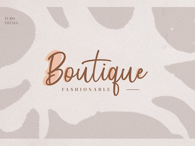 Boutique Logo Branding