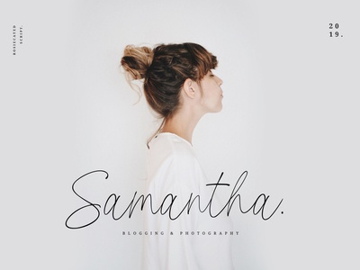 Samantha Blogging & Photography Logo