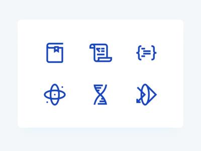 Olympiad icons subject perfect iconography icons pack ios design edu ai illustrator pixel perfect icon set icons