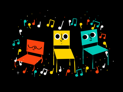 Musical Chairs character animation musical chairs google