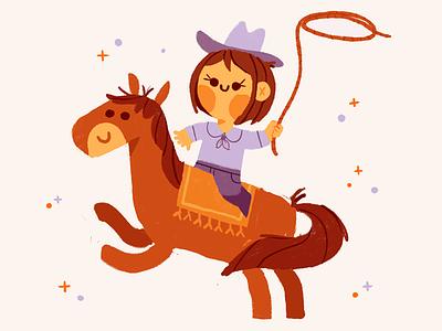 Yeehaw western procreate yeehaw horse