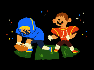 Teamwork kids sports football