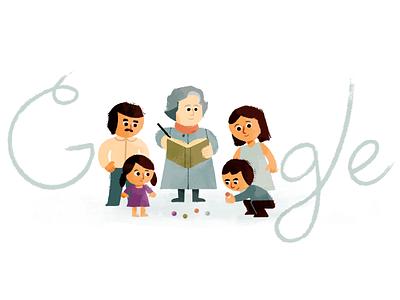 Virginia Gutíerrez de Pineda colombia illustration google doodle