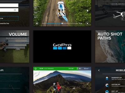 GoPro Karma UI controller hero design interface ux ui drone karma gopro