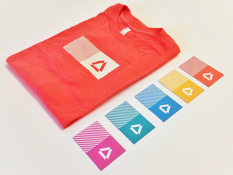 Prismatic Brand prismatic tshirt business keussen cards brand color swag