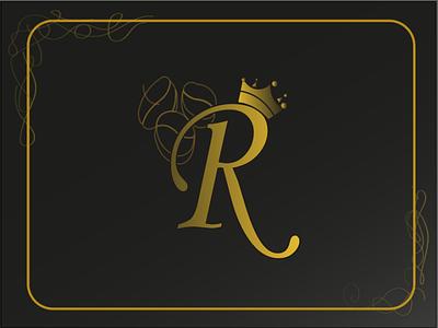 Perfume logo for men men mens perfume perfume yellow r letter black branding logo ui adobe illustration vector illustration design