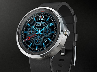 Moto 360 product breitling 01 dribbble