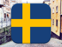 Swedish flag - Fun with flags