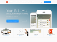 The new Wunderlist website