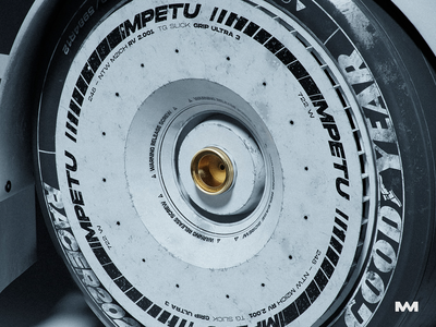 PROJECT GTI Tire imperfection car wheel racing wheel logo redshift3d redshift c4d cinema4d tire design 3d