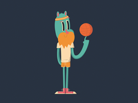 Basket dude