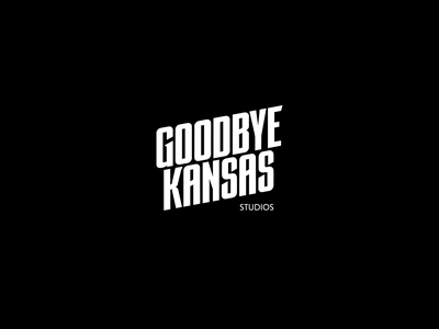 Goodbye Kansas logo reveal bump outro intro marcus melin goodbye kansas animate 2d reveal animation logo