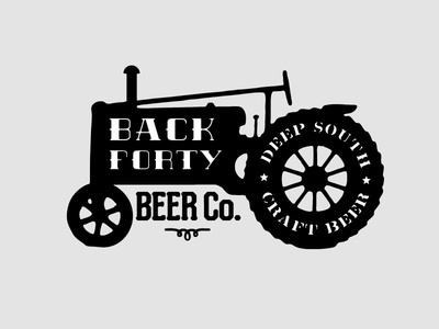 Back Forty Beer Graphic