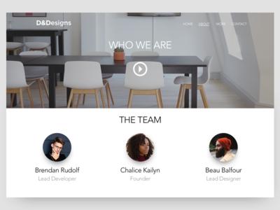 About Concept minimal sketch web web design ux ui